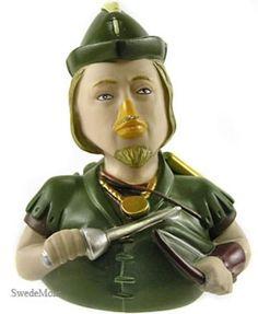CELEBRIDUCK Rubber Ducky ROBIN HOOD Duck LE NEW