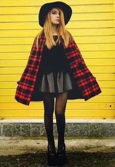Grunge outfit ideas - how to get grunge look