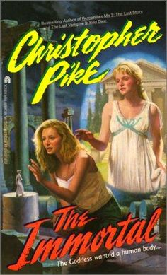 Christopher Pike books @Mackenzie Greer Isn't this the one where the girl grinds up glass and puts it in the other girls' burger??