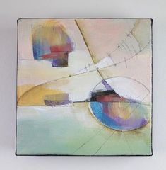 Original abstract art acrylic painting on canvas affordable