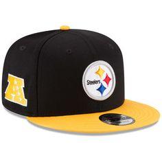 New Era Pittsburgh Steelers 9FIFTY Baycik Snap Snapback Hat 8da4eab2e899