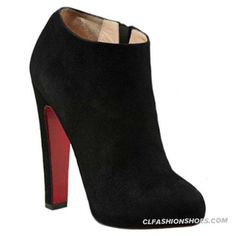 Christian Louboutin Vicky Booty 120mm Ankle Boots Black
