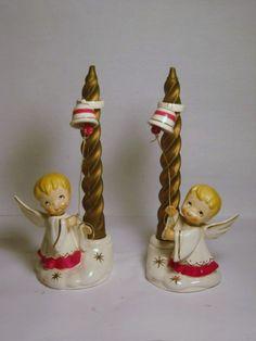 HTF Vintage Holt Howard porcelain Angel by BrilbunnySelections, $115.00