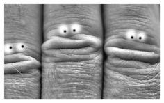 Wrinkled fingered friends