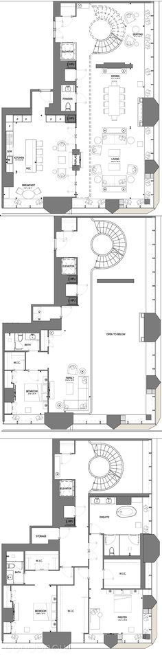 Penthouse Floor Plans Unique the E Condos by Mizrahi Penthouse Suites 03 Floorplan 3 Bed at Home Interior Designing
