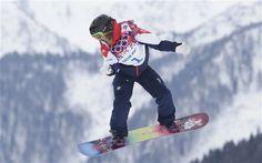 Jenny Jones wins snowboard slopestyle bronze medal at Sochi 2014 Winter Olympics Olympic Mascots, Olympic Hockey, Usa Hockey, Olympic Medals, Hockey Teams, Winter Olympic Games, Winter Olympics, Jenny Jones