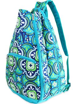 Pacific Splash Monogrammed Tennis Backpack i have this tennis backpack but in a different pattern