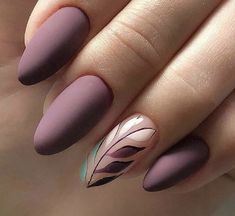 Exceptional Lavender Nail Polish Ideas to Consider Right Now - Nails - Lavender Nail Polish, Lavender Nails, Cute Acrylic Nails, Matte Nails, Acrylic Nails Almond Matte, Fall Almond Nails, Almond Nail Art, Gradient Nails, Holographic Nails