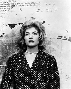 monica vitti in l'avventura by michelangelo antonioni. —fffolly