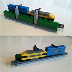 Treinstation micro lego
