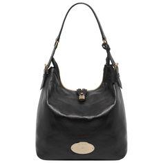 Mulberry Bella Hobo Bag, in Black Soft Spongy Leather Mulberry Purse, Hobo Bag, Handbag Accessories, Rebecca Minkoff, Handbags, Purses, Boots, Leather, Black