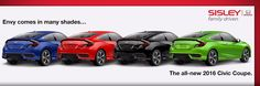 Envy comes in many shades... 2016 Honda Civic Coupe