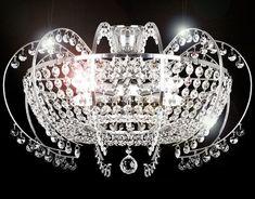 Kronleuchter Antik Xl ~ Kristall deckenlampe 16x20w g4 palass 64338 luxera kristall