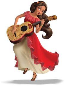 Un poco sobre los personajes de la nueva serie animada de Disney Chanel. Conoce a Elena of Avalor y sus amigos!