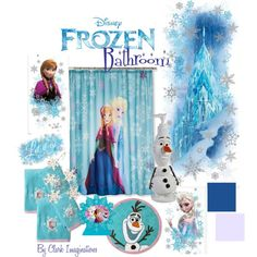 Charmant A Home Decor Collage From November 2014 Featuring Disney Bathroom  Accessories.