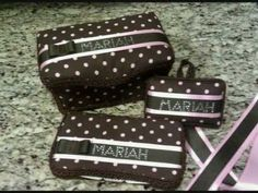 Baby wipe case with hair bow holder