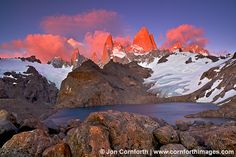 Laguna de los Tres Sunrise Clouds 3