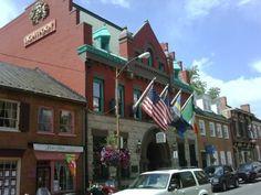 Downtown Leesburg, VA Old Peoples National Back