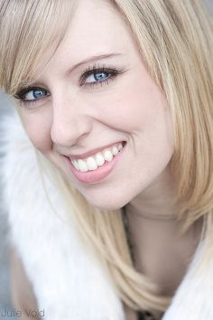 Smile Blue Eyes by Julie Vold Photography, via Flickr