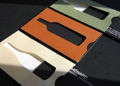 the folder business card.  Awesome concept