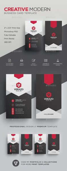 Stylish Business Card Template by verazo Need more high quality business card? View my Business Card Templates Collection OR Save Money! Buy Business Card Bundle for only High Quality Business Cards, Buy Business Cards, Business Card Maker, Business Cards Layout, Black Business Card, Unique Business Cards, Corporate Business, Business Card Design, Corporate Profile