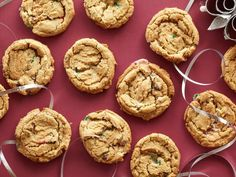 Day 4 of #12DaysOfCookies: Sunny Anderson's Chocolate Chip Candy Cane Cookies
