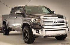 2014 #Toyota #Tundra 1794 w/ Pocket Style #FenderFlares