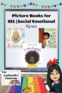 Social emotional learning is always important but even more so with living through a Pandemic and your world being upended. These three poicture books are a must have for your library: The Good Egg, I Am Enough and The Day You Begin. Social Emotional Development, Social Emotional Learning, Social Skills, English Language, Language Arts, Learning Patience, Emotional Child, Elementary School Counseling, Primary Lessons