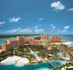 Atlantis, Paradise Island - Bahamas, Caribbean Islands.  Our honeymoon was here more than 20 years ago. #Honeymoon