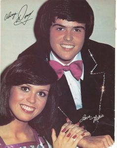 Donny & Marie.I used to love watching Donny & Marie.Please check out my website thanks. www.photopix.co.nz