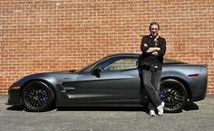 Tim Allen and his 2009 Corvette ZR1. Great color combo. Is he finally realizing Corvettes are superior to Mustangs?
