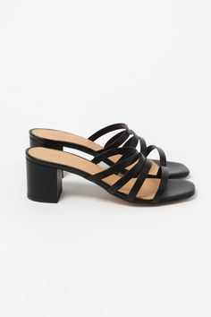 Calella Sandal Black – Lily Black Sandals, Leather Sandals, Summer Looks, March, Lily, Boutique, Heels, Black Flat Sandals, Heel