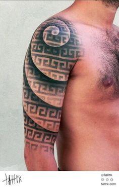 25 Best Spiral Tattoo Sleeve Images Arm Tattoo Spiral Tattoos