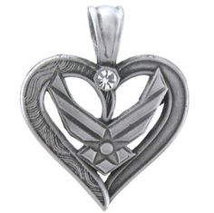 Air Force Necklace | Military.com Apparel and Gear Store this is really pretty!