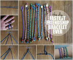 The Fastest Friendship Bracelet Ever