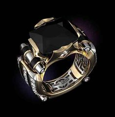 42 Ideas for jewerly for men rings bling Jewelry Rings, Jewelry Accessories, Fashion Accessories, Jewelry Design, Fashion Jewelry, Jewellery, Ringe Gold, Bijoux Art Deco, Ring Watch