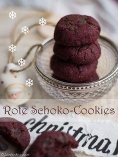 Rote Beete Schoko-Cookies...