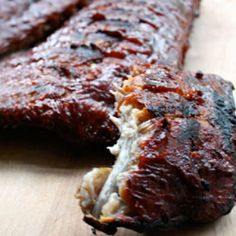 Finger-Licking Ribs - These ribs are profoundly great. It's all about is the long, slow-cooking — the kind of cooking that melts all the fat and tendons so that the meat pulls clean off the bones in long, succulent shards. Oh they are so good.