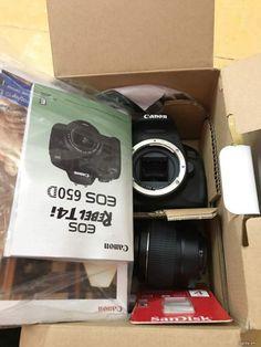 bán canon 650D  len full box