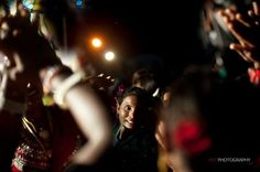 Hindu devotee takes part in the Durga Puja festivities in Yangon.