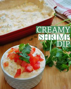 Creamy Shrimp Dip.A delicious blend of cheese and shrimp!
