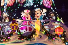 東京ディズニーリゾート、東京ディズニーシー、ディズニークリスマス、カラー・オブ・クリスマス、ミッキー、ミニー