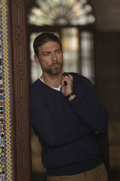 Adam Rayner - 'Tyrant'. Matthew Clairmont #Adiscoveryofwitches @debharkness