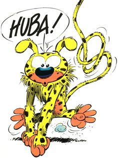 Marsupilami is a fictional comic book species created by André Franquin, first published on 31 January 1952 in the magazine Spirou. Since then it appeared regularly in the popular Belgian comic book series Spirou et Fantasio until Franquin stopped working on the series in 1968 and the character dropped out soon afterward.