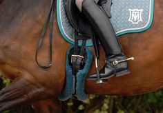 equestrian equine cheval pferde caballo | color coordination || bay dressage boots