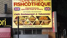 Continuing the theme of funny store name puns ... I present fishcotheque!!  #puns #funny #words #English
