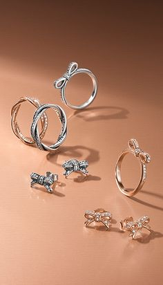 PANDORA Ribbons and bows to wrap up your fall style.  Get yours at www.BeCharming.com & get free shipping.