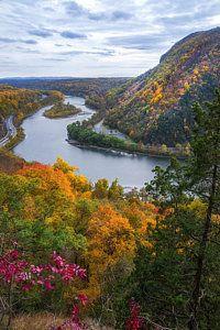 Autumn Photograph - Mount Minsi 2 by Mark Papke
