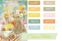 inspirational and creative color palettes