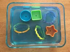 Activities for your 6 month old: Gelatin Dig